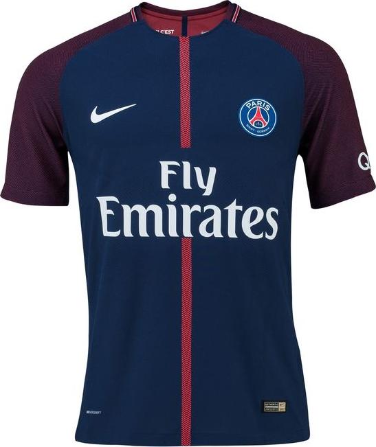 c3a2d0040a Nike lança as novas camisas do PSG - Show de Camisas