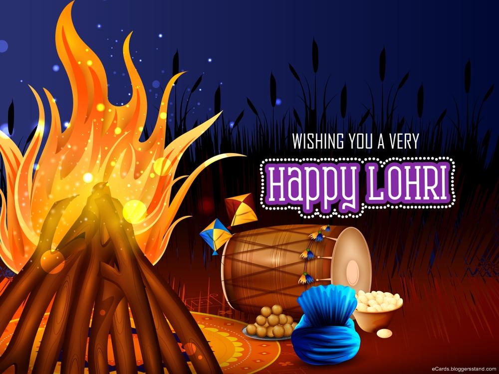 Best Happy lohri 2021 images status