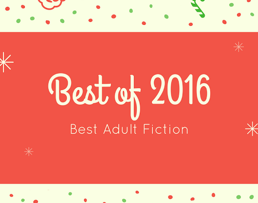 Best Adult Fiction of 2016