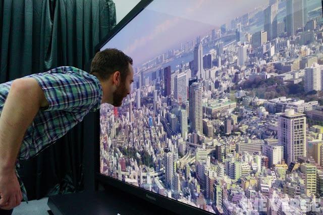 لأول مرة اليابان تختبر تقنية 8K في القنوات التلفزيونية النظامية على مستوى العالم