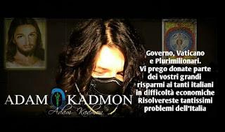 la verità su Adam Kadmon