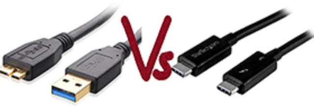 Différence entre USB type C et USB 3