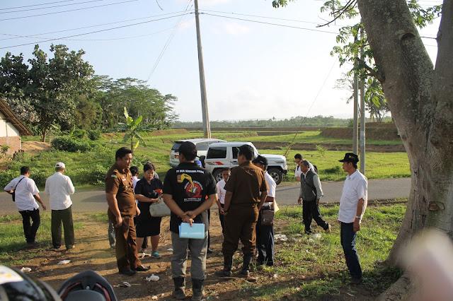 Tim TP4D Cek Normalisasi Sungai Cibeureum