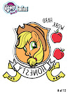MLP Tattoo Card 8 Series 5 Trading Card
