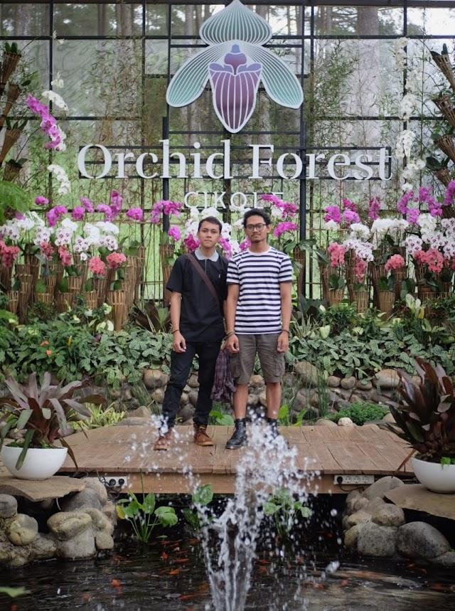 Orchid Forest, Tempat Rekreasi di Cikole Lembang Bandung