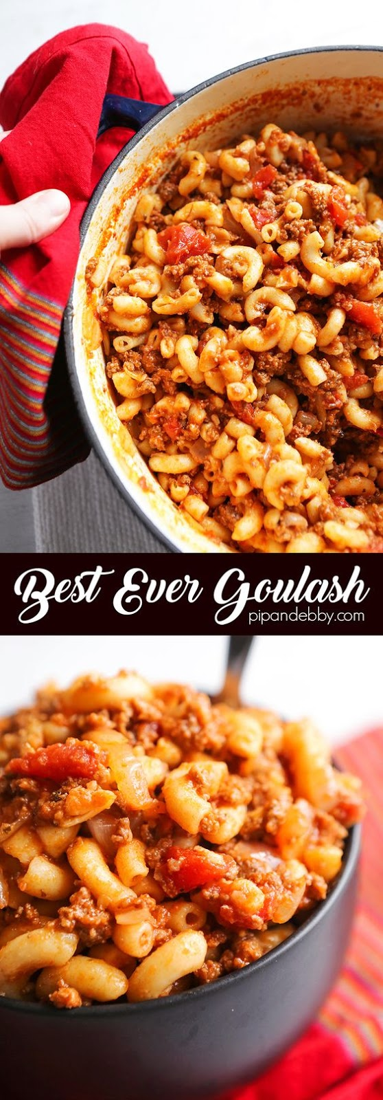 BEST EVER AMERICAN GOULASH RECIPE