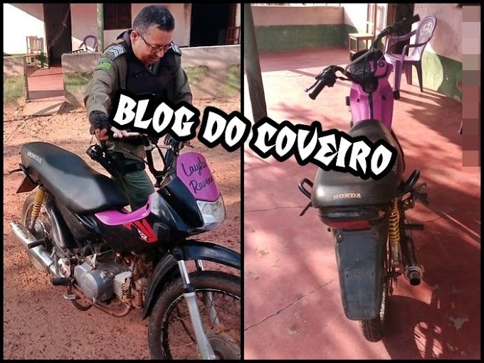 Moto roubada em Parnaíba é recuperada pela PM em Cocal-PI