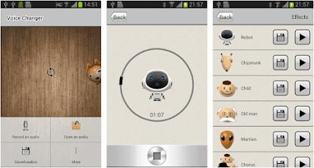 Aplikasi Voice Changer - AndroidRock