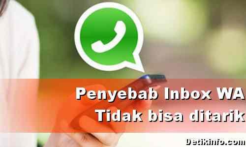 Menarik Pesan Terkirim di WhatsApp Gagal, Ternyata Ini Penyebabnya!