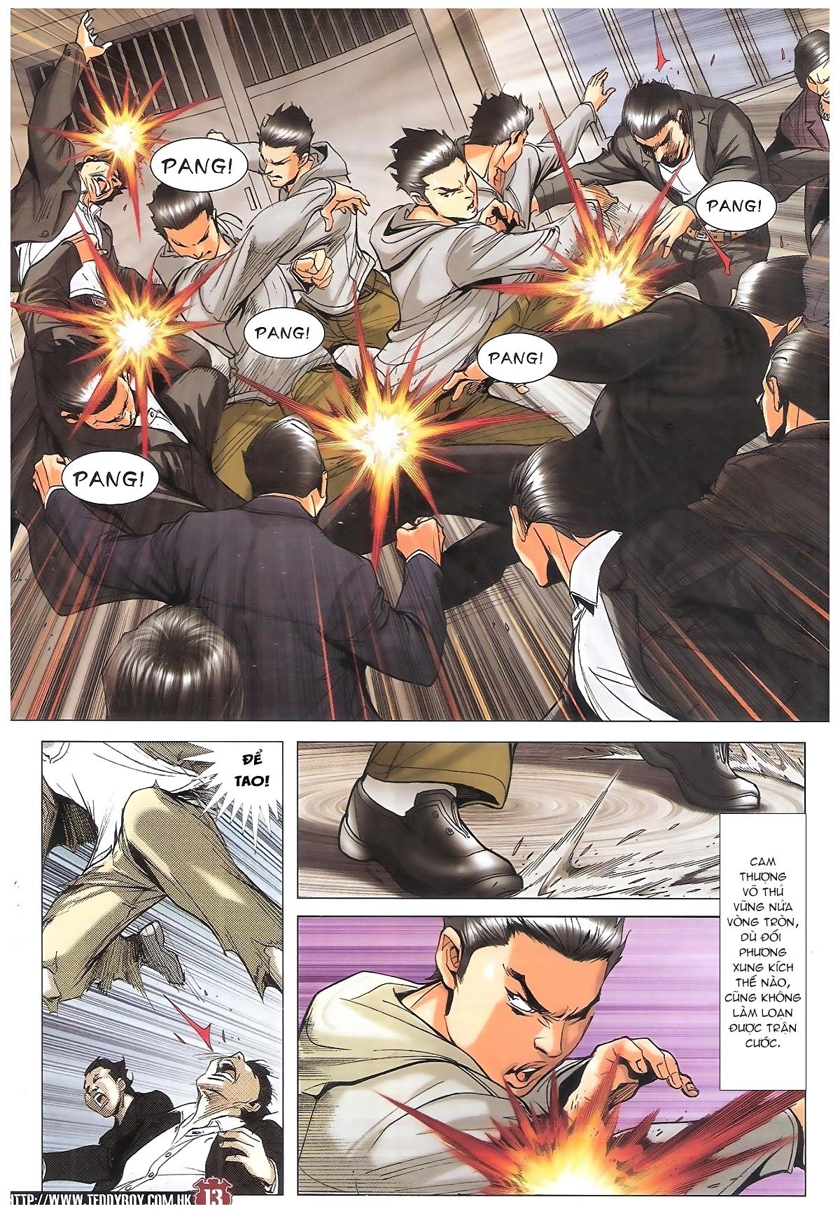Người Trong Giang Hồ chapter 1795: hoàng tiên sinh trang 12
