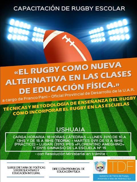 Introducción al Rugby Escolar - Ushuaia