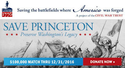 We're almost there - Princeton $3-to-$1 match