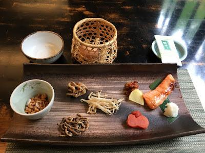 駒ヶ岳温泉の朝食