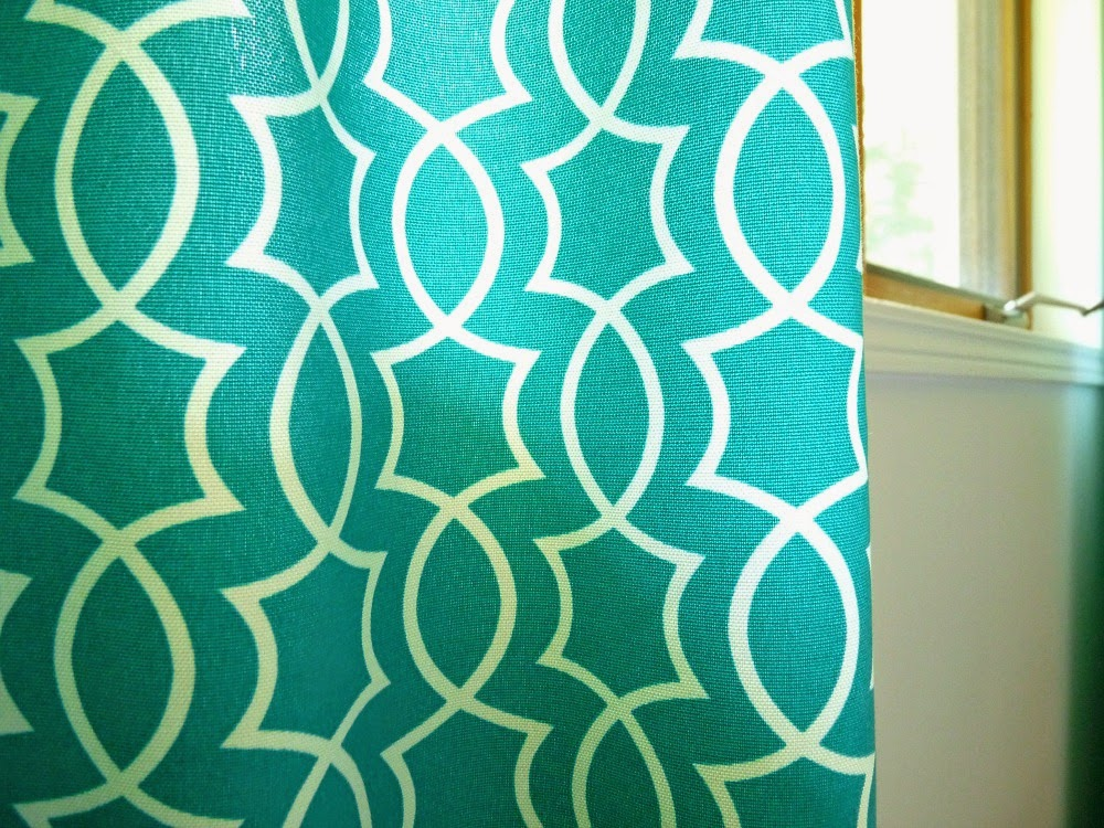Richloom Solarium Titan Peacock Fabric