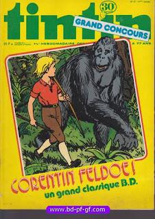 Tintin numéro 48, 1976, Corentin Feldoe