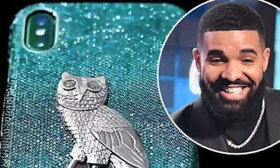 Artiste Drake buys N144m diamond encrusted iPhone case