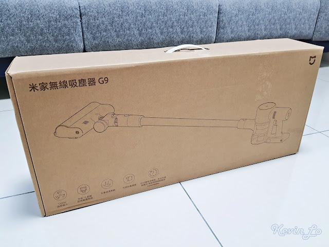 【MI 小米】米家無線吸塵器 G9 (白色) 開箱_環保紙盒