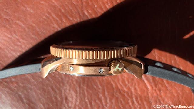 Tsao Baltimore Torsk-Diver bronze, side crown