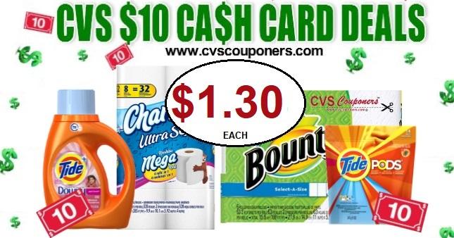 Charmin or Bounty CVS Deal $1.30 12-8-12-14