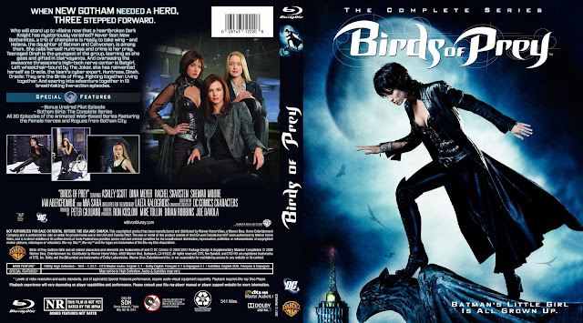 Birds Of Prey The Complete Series Bluray Cover