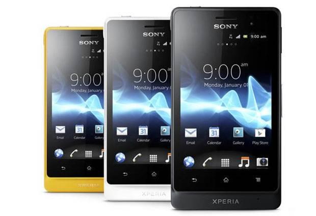 Sony Xperia Go - Smartphone com resistência a água e ao acúmulo de poeira
