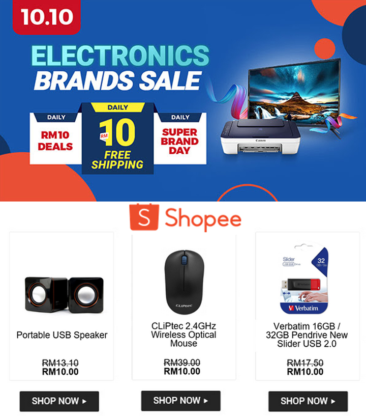Shopping Shopee 10-10