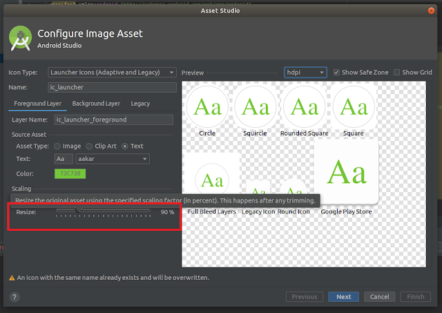Android Studio - Text Resize