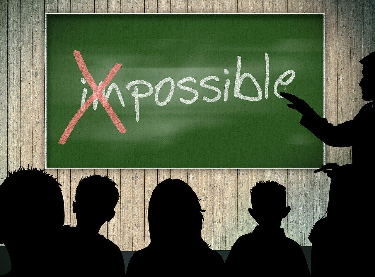 ಅಸಾಧ್ಯವಾದ ಸಂಗತಿಗಳನ್ನು ಸಾಧಿಸುವುದು ಹೇಗೆ? How to achieve impossible things?