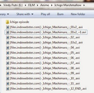 Ichigo Mashimaro 1-12 eps anime.
