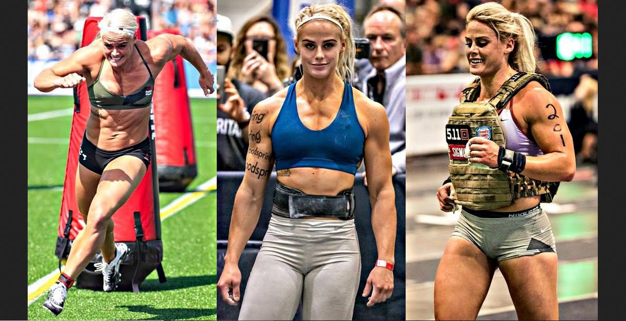 Ragnheiður Sara Sigmundsdóttir powerful and strong female CrossFit