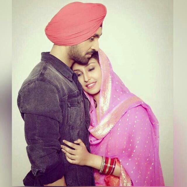 diljit dosanjh and your wife sandeep kaur