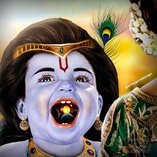 Lord Krishna Bachpan Ki Photo, Lord Krishna Childhood Photo