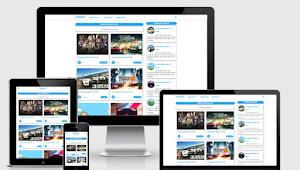 Cara mengubah tampilan blog menjadi 2 grid responsif