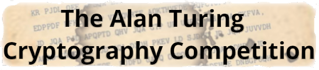 The Alan Turing Cryptography Competition site's logo