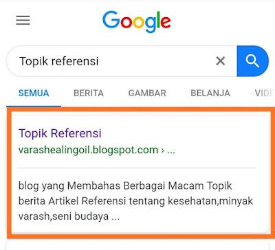 Jika Anda masih baru belajar atau pemula dalam mengembangkan suatu situs Blog,yang belum paham dalam memasukkan suatu deskripsi Blog, yang mana fungsinya adalah menggambarkan isi dari keseluruhan Topik pembahasan isi  pada blog itu.  Membuat Deskripsi pada Blog juga merupakan salah satu bagian dari Seo (Search Engine Optimazation). Yaitu Pengoptimalan Mesin telusur.  Deskripsi Blog tersebut akan mempermudah perayap google dalam mengenali situs Blog anda.Selain itu Deskripsi Blog itu akan selalu muncul di bagian bawah judul blog anda. jika kita menuliskan salah satu kata kunci spesifik dan relevan yang terdapat pada deskripsi tersebut maka biasaya blog kita akan muncul di halaman penelusuran google tersebut.  Contohnya Seperti gambar di bawah ini, ketika saya menuliskan judul blog ini di halaman pencarian google (seach google).Maka Blog ini secara otomatis akan muncul dan tentunya di barengi dengan deskripsi yang saya buat.perhatikan gambar ini:   hasil penelusuran menampilkan deskripsi blog di google penelusuran    Dari gambar di atas kemungkinan akan sangat baik buat para pengunjung yang menemukan situs blog anda.Salah satu keuntunganya yaitu jumlah klik pada situs Blog itu akan semakin meningkat karena melihat isi dari deskripsi yang di tapilkan di hasil penelusuran.  Lalu bagaimana cara Membuat dan menampilkan Deskrisi Blog itu pada penelusuran halaman Google untuk pemula?  Berikut kami akan Jelaskan secara memdetail supaya bisa di terapkan Untuk Bloger Pemula:  1.langkah pertama,Silahkan Login atau masuk dulu ke Akun Blog Anda seperti Gambar Dibawah ini:   2.Langkah Selanjutnya  di menu Blog Klik Stelan->Dasar->Deskripsi.Silahkan Edit dan tulis deskripsi yang singkat,Relevan dan padat yaitu 150 kata(sesuai ketentuan peraturan Blogger) dibawah dari jumlah kata diatas juga di perbolehkan yang merupakan gambaran dari keseluruhan Topik atau Konten dari situs Blog anda.Perhatikan Gambar di bawah:   gambar penempatan deskripsi blog   3.Klik Simpan perubahan.  4.Langka