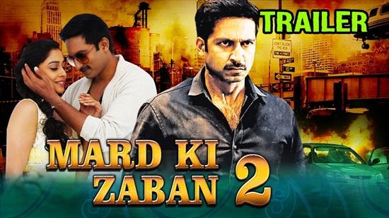 Mard Ki Zaban 2 2017 Hindi Dubbed 720p HDRip 800mb