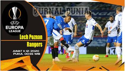 Prediksi Lech Poznan vs G.Rangers ,Jumat 11 Desember 2020 Pukul 00.55 WIB