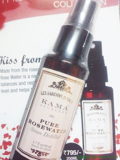 Pure Organic Rose Water
