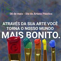 08 de maio - Dia do Artista Plástico