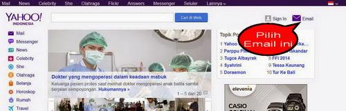 Gambar tampilan yahoo indonesia oleh mas dory saputro