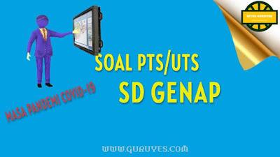 yang dapat anda download secara gratis berserta jawabannya untuk Soal UTS Download Soal PTS IPA Kelas 1 SD Semester 2 Kurikulum 2013