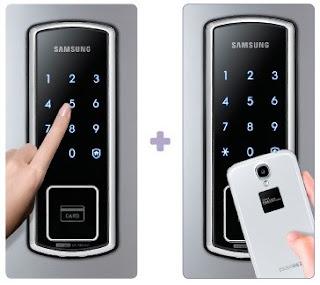Độ bảo mật cao hoàn hảo của Khóa cửa điện tử Samsung