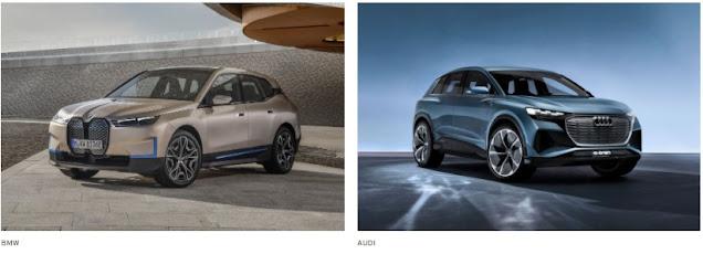 BMW iX atau AUDI Q4 e-Tron