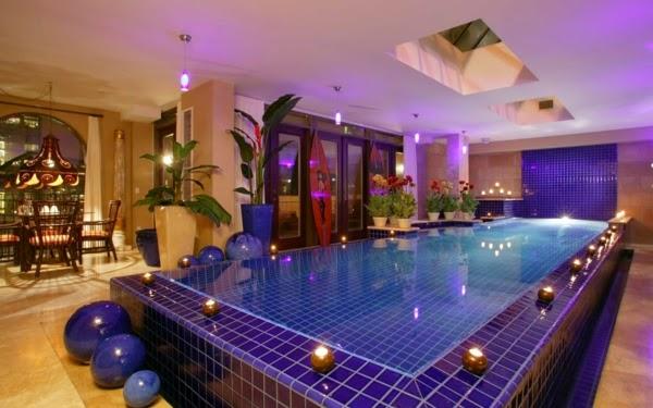 modelo de piscina en casa