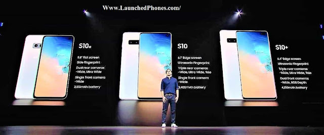 most of the specs are same hither but non the all Samsung Milky Way S10 Series: S10 5G, S10 Plus, as well as S10e are launched