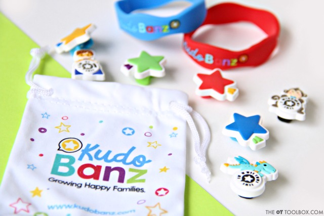 Kud Banz is a potty training reward system that helps kids learn steps of potty training through positive reinforcement and an interactive incentive.