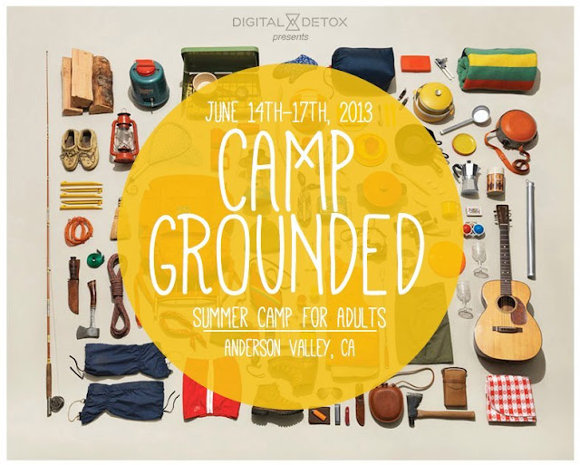 Camp Grounded logo