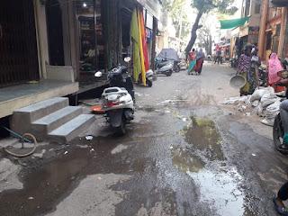 पेटलावद नगर परिषद की लापरवाही से हो रहा पानी का अपव्यय, मामला वार्ड क्रमांक 11 का