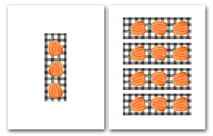 Bookmark Printables for Halloween