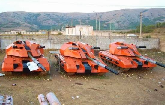 Prototipe tank Armata